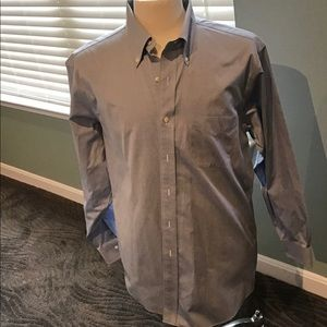 Brooks Brothers Button Down blue Oxford EUC